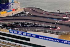 El Norwegian Joy embarca una pista de karting a bordo